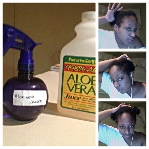 Aloe Vera Juice Rinse