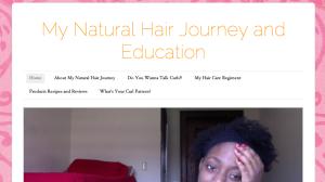 Blog Screen Shot